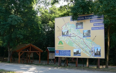 Hiking routes